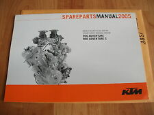 3CM089813EN 2006 KTM 950 Adventure Engine Spare Parts Manual