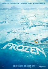 Frozen - original DS movie poster - 27x40 D/S - 2014 INTL Advance