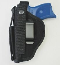 Gun Holster Hip Belt for RUGER LC9 or LC9s Pistol with Extra Magazine Pouch
