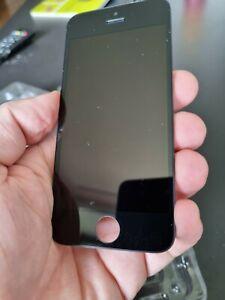 Original Apple iPhone 5s black lcd screen