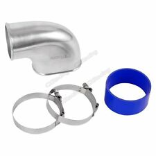 """CXRacing 3.5"""" Throttle Body Intake Elbow + Hose for 05-14 Ford Mustang 4.6L V8"""