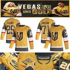 Gold Third jersey Vegas Golden Knights karlsson marchessault pacioretty fleury