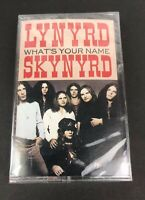 New Lynyrd Skynyrd Whats Your Name MCA Special Products USA Sealed Cassette