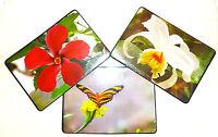6 Stück Tischset / Platzset / Platzdeckchen / Blumen / abwaschbar / Platzmatte
