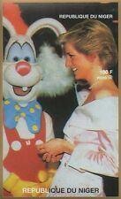 LADY DIANA PRINCESS OF WALES ROGER RABBIT IMPERFORATED 1997 MNH STAMP SHEETLET