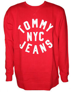 Tommy Jeans Relaxed Fit Sweat Pullover Sweatshirt Hoodie Gr. L