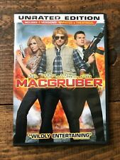 MacGruber (Dvd, 2010, Rated/Unrated)-Includes Theatrical-Comedy-Action- Gag Reel
