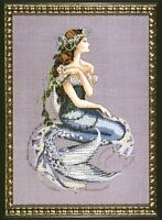 """SALE!  COMPLETE XSTITCH MATERIALS """"ENCHANTED MERMAID"""" MD84 by Mirabilia"""
