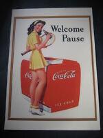 Cartel Publicitario de COCA COLA