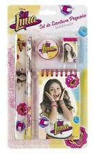 Disney Soy Luna Pen Set Block Pencil Eraser Sharpener Ruler Pen