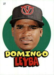 2016 Topps Heritage Minors '67 Topps Stickers #27 Domingo Leyba