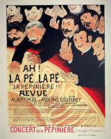 Félix Vallotton: Concierto Para El Niño - Litografía Original, Firmada 1898