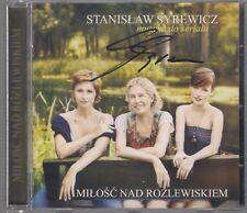 STANISLAW SYREWICZ MILOSC NAD ROZLEWISKIEM SIGNED AUTOGRAF 2011 CD TOP RARE OOP