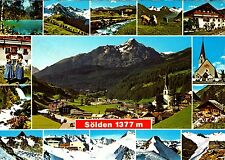 Sölden im Ötztal  , Ansichtskarte 1981 gelaufen