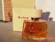 KITON DONNA Kiton eau de PARFUM spray 50 ml ORIGINAL RARE DISCONTINUED