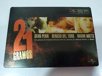 21 Gramos Sean Penn Benicio del Toro Naomi Watts DVD Steelbook - AM