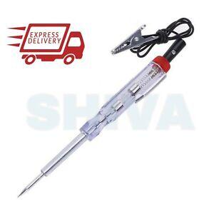 6V 12V 24V Car Circuit Tester Automotive Electrical Probe Light Voltage Pen Test