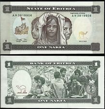 ERITREA HERYTHREE 1 Nakfa 1997 - UNC