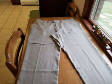 Izod Flat Front Mens Casual Pants Beige 42/30 FREE SHIPPING