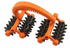 Rolling Handheld 16 Wheel Back Body Arms Legs Massager Reflexology Stress Relief