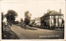 Mill Hill. Selvage Lane.