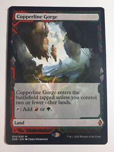 Copperline Gorge - Zendikar Rising Expeditions (Magic/MTG) NM/LP