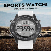 SMAEL Mens Sports Watch LED Digital Analog Quartz Male Wrist Waterproof Watches