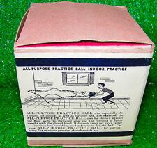 Rare Vintage 1960s All Purpose Practice Ball Baseball Training - Never Used