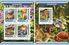 Mushrooms Champignons Solomon Islands MNH stamp set