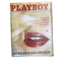 PLAYBOY Magazine Vintage Centerfold May 1979 Private Life Of Marilyn Monroe