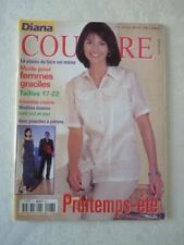 Magazine mode fashion DIANA COUTURE french avec patron #27 avril 2000