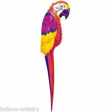 1.2m Tropical Luau Inflatable Parrot Party Decoration