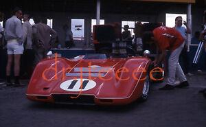 1969 CAN-AM WG Lothar Motschenbacher McLAREN - 35mm Racing Slide