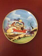 The Flintstones by The Franklin Mint vintage Plate