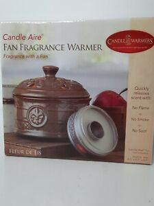 Candle Warmers ETC. Candle Aire Fan Fragrance Warmer Fleur De Lis