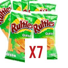 Ruffles Queso Mexican chips Sabritas 7 BAGS, (50 G each)
