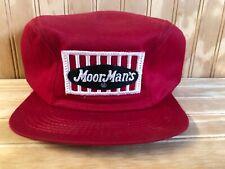 Vintage K Brand Moor Man's Feeds Trucker Hat Winter Cap Red and get free hats