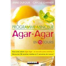 PROGRAMME MINCEUR AGAR-AGAR - ANNE DUFOUR & C. GARNIER
