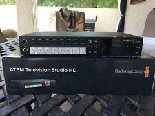 New listing Blackmagic Design Atem Television Studio Hd Production Switcher