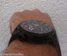 Sector XXL Uhr 48 mm Schwarz-Rot #3251 HAU Herrenuhr mit Faltschließen-Armband