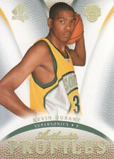 2007-08 SP Authentic Basketball Profiles #AP-13 Kevin Durant Seattle SuperSonics