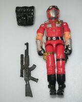 Lot 2002 GI Joe Cobra Fuchsia Crimson Strike Team Viper v7 Figure *Complete