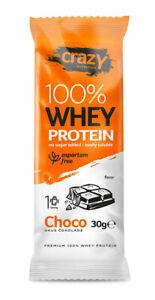 Pure Whey Protein Powder 30g /choose flavor/no sugar/ (22.5 grams pure protein )