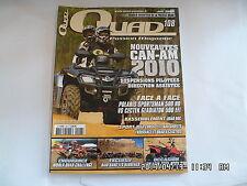 QUAD PASSION MAGAZINE N°108 06/2009 CAN-AM 2010 POLARIS SPORTSMAN 500 HO   H5