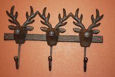 (18) Deer Hunter Hat Rack, Deer Hunter Cabin Decor, Deer Lease Decor, W-61