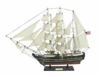 "Wooden Pequod Model Whaling Boat 24"" - Tall Model Ship - Wooden Model Boat"