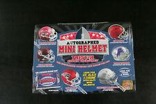 Tristar Hidden Treasures Box Football Autograph Mini Helmet Sealed Tom Brady