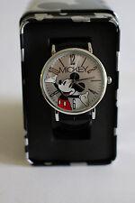 New Disney Mickey Mouse leather band watch, Quartz. New/ Box/warranty