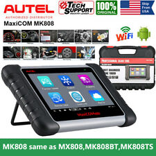 Autel MaxiSys MK808 MX808 OBD2 All System Diagnostic Scan Tool IMMO Key Coding