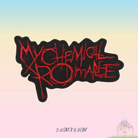 My Chemical Romance Music Band Embroidered Iron On Sew On Patch Badge